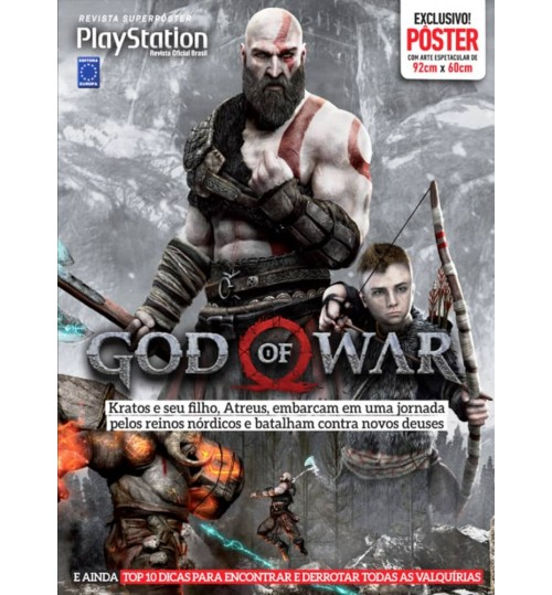 Revista Superpôster - God Of War