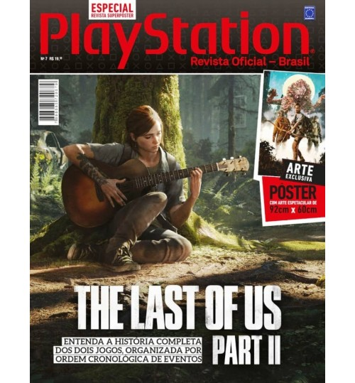 Revista Superpôster PlayStation - The Last Of Us Part II