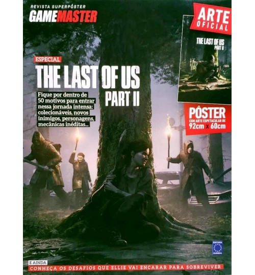 Revista Superpôster - The Last Of Us Parte II (Volume 2)