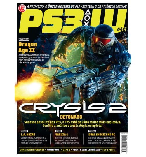 Revista PS3W - Detonado Crysis 2 N° 42
