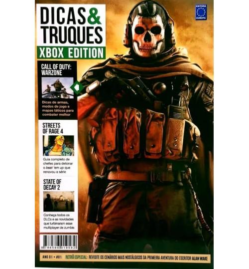 Livro Dicas e Truques Xbox Edition - Volume 1