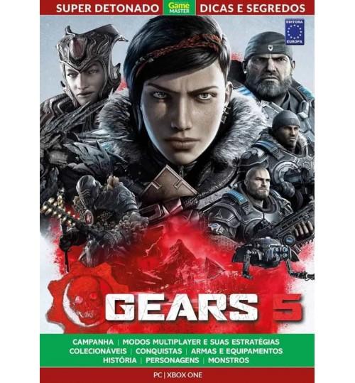 Livro Super Detonado Dicas e Segredos - Gears of War 5