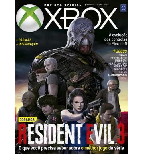 Revista Oficial Xbox - Jogamos! Resident Evil 3 N° 166
