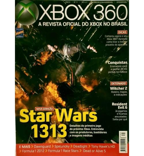Revista Oficial Xbox 360 - Star Wars 1313 Nova Geração N° 71