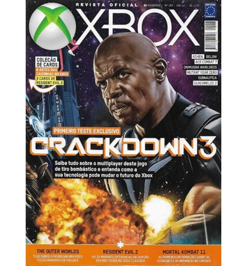 Revista Oficial Xbox - Crackdown 3 N° 153