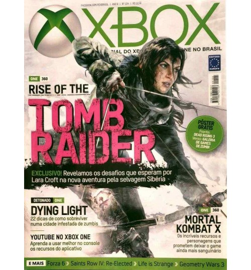 Revista Oficial Xbox - Rise of the Tomb Raider N° 104