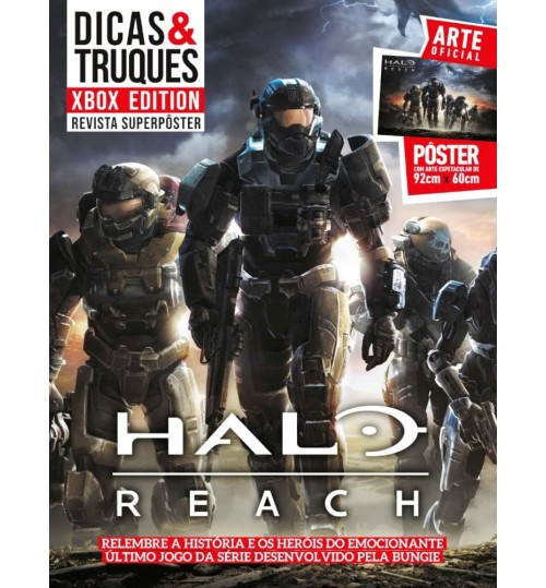 Revista Superpôster Dicas & Truques Xbox Edition - Halo Reach