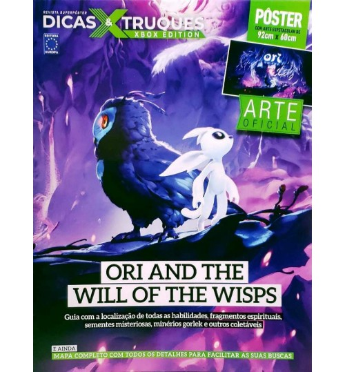 Revista Superpôster Dicas & Truques Xbox Edition - Ori And The Will Of The Wisps