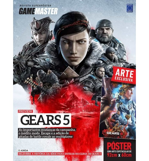 Revista Superpôster - Gears of War 5