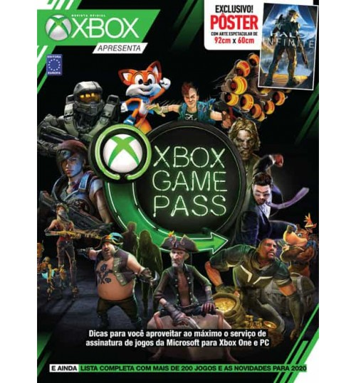 Revista Superpôster - Xbox Game Pass