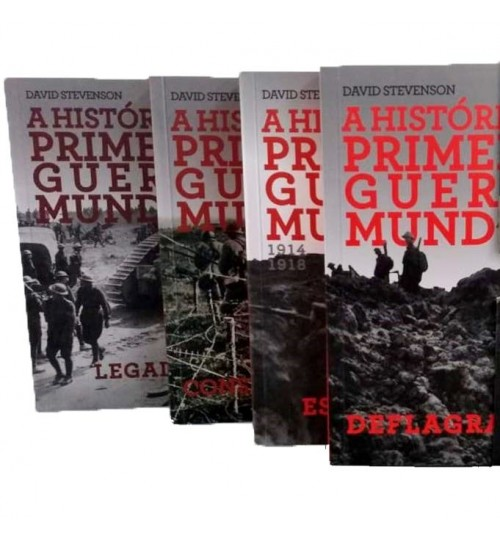 Kit A História da Primeira Guerra Mundial - 1914 - 1918