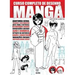 Livro Curso Completo de Desenho Mangá