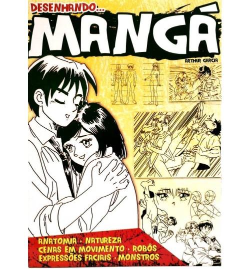 Livro Desenhando Mangá