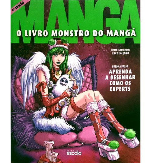 Livro O Livro Monstro do Mangá