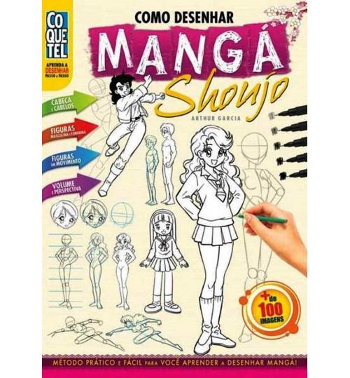 Livro Como Desenhar Mangá Shoujo