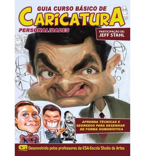 Revista Guia Curso Básico de Caricatura Personalidades