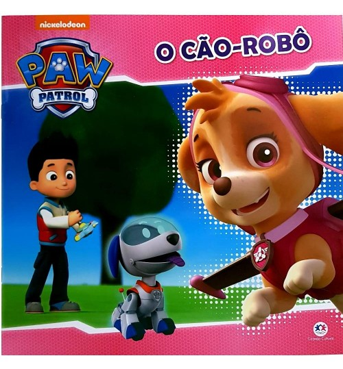 Livro Patrulha Canina O Cão-Robô
