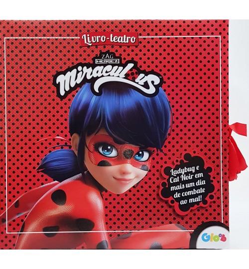 Livro Teatro Miraculous Ladybug