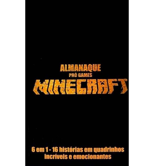 Livro Almanaque Pró Games Minecraft