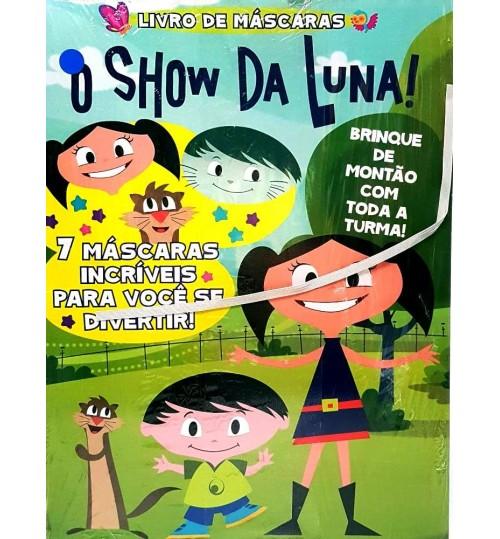 Livro de Máscaras O Show da Luna 7 Máscaras