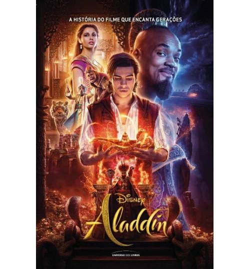 Livro Aladdin - A História do Filme que Encanta Gerações