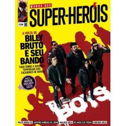 Revista Mundo dos Super-Heróis - A volta de Billy Bruto e seu Bando N° 124