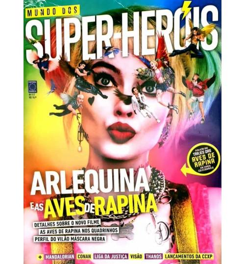 Revista Mundo dos Super-Heróis - Arlequina e as Aves de Rapina N° 117