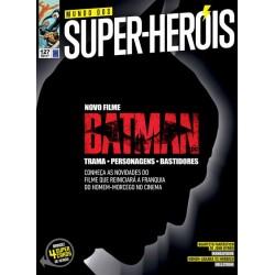 Revista Mundo dos Super-Heróis - Batman Novo Filme N° 127