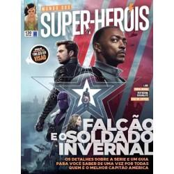 Revista Mundo dos Super-Heróis - Falcão e o Soldado Invernal N° 130