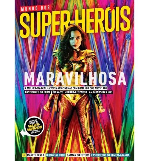 Revista Mundo dos Super-Heróis - Mulher-Maravilha Maravilhosa N° 113