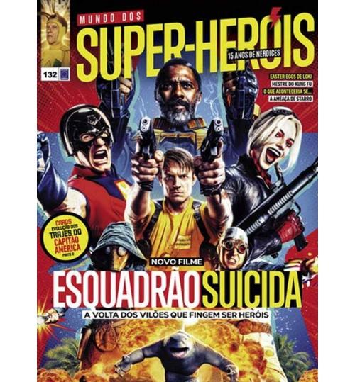 Revista Mundo Dos Super-Heróis - Novo Filme Esquadrão Suicida N° 132