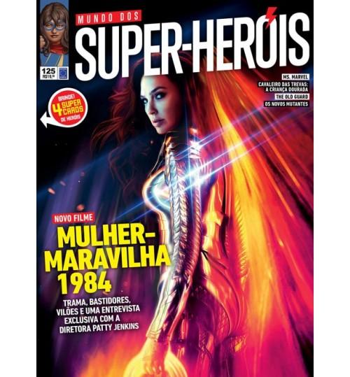 Revista Mundo dos Super-Heróis - Novo Filme! Mulher-Maravilha 1984 N° 125