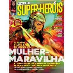 Revista Mundo dos Super-Heróis - O Novo Filme e os 80 anos da Mulher-Maravilha N° 129