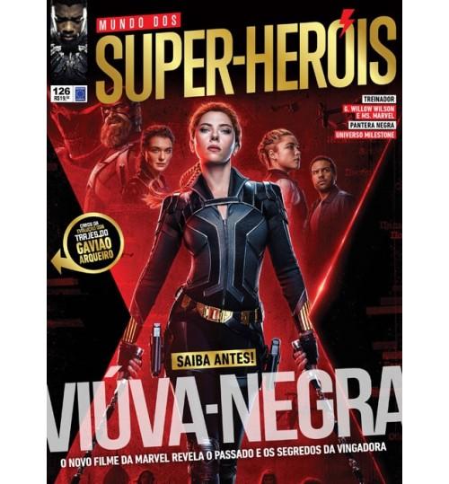 Revista Mundo dos Super-Heróis - Saiba Antes! Viúva-Negra N° 126