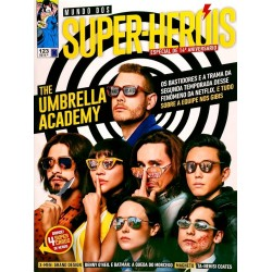 Revista Mundo dos Super-Heróis - The Umbrella Academy N° 123