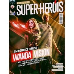 Revista Mundo dos Super-Heróis - Um Romance Bizarro Wanda Vision N° 121