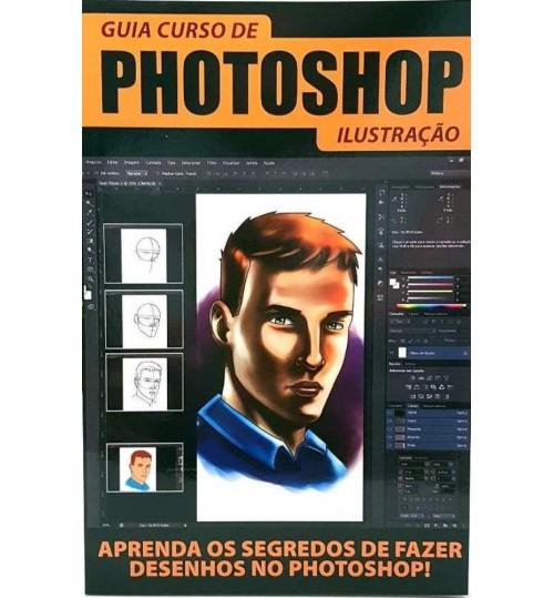 Revista Guia Curso de Photoshop Ilustração