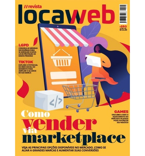 Revista Locaweb - Como Vender Via Marketplace N° 105