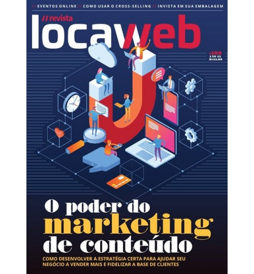 Revista Locaweb - O Poder do Marketing de Conteúdo N° 102