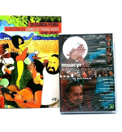 Kit Moacyr Luz & Samba do Trabalhador - Livro + DVD