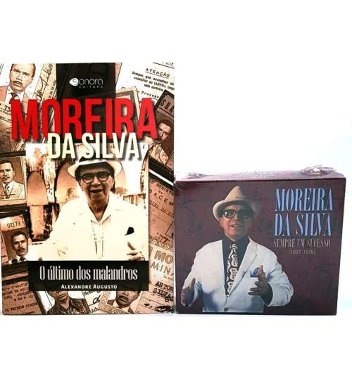 Kit Moreira da Silva - Livro + Box com 4 CD'S