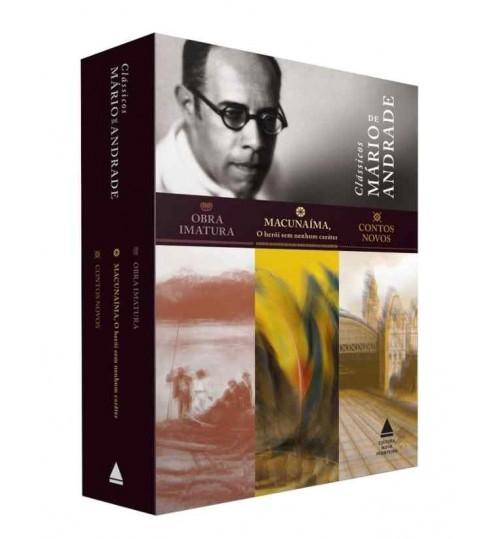 Box Clássicos Mário de Andrade - 3 Livros