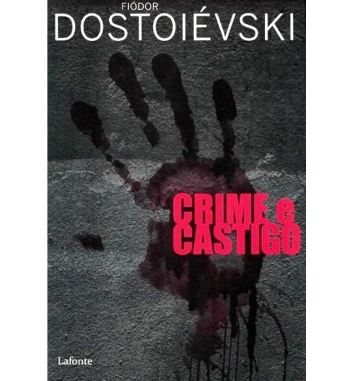 Livro Crime e Castigo - Dostoiévski