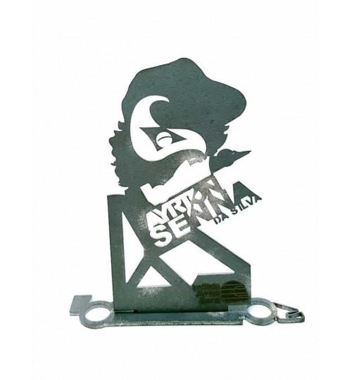 Estátua Silvastone  Ayrton Senna Um Herói Moldado de Alma, Coração e Aço!