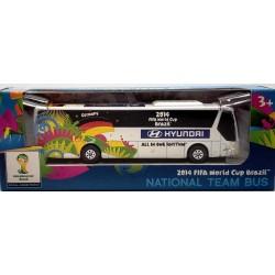 Miniatura Ônibus Hyundai Alemanha Copa Do Mundo