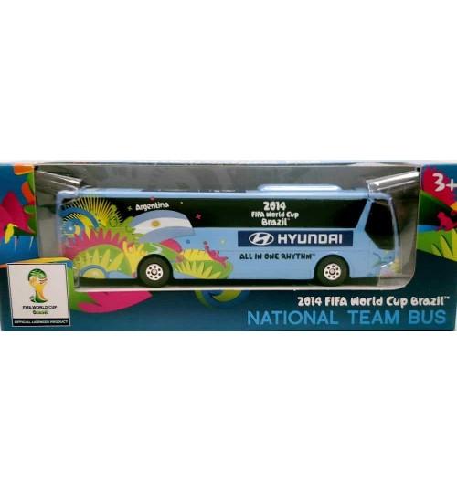 Miniatura Ônibus Hyundai Argentina Copa Do Mundo
