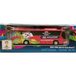 Miniatura Ônibus Hyundai Coréia do Sul Copa Do Mundo