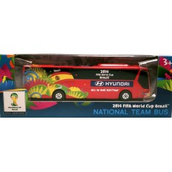 Miniatura Ônibus Hyundai Espanha Copa Do Mundo