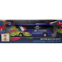 Miniatura Ônibus Hyundai França Copa Do Mundo