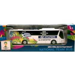 Miniatura Ônibus Hyundai Grécia Copa Do Mundo